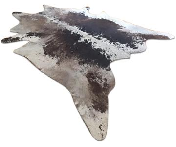 Brown & White Cowhide Area Rug