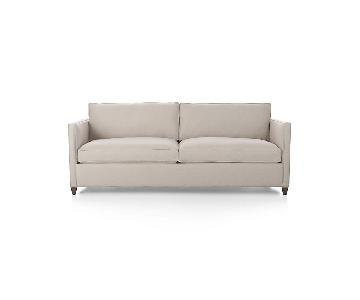 Crate & Barrel Dryden 2 Seater Sofa