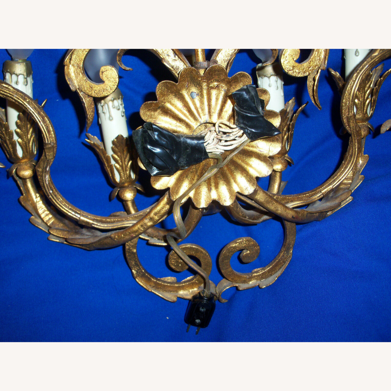 Vintage 7-Light Italian Baroque-Style Sconce - image-12