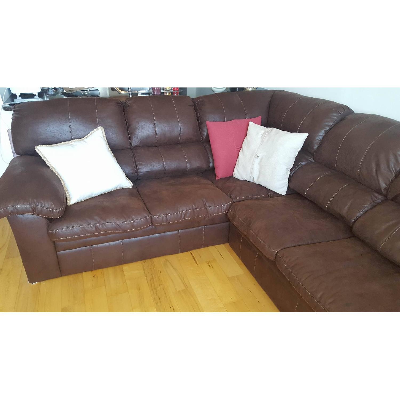 Simmons Bedding Co 2 Piece Sectional Sofa Aptdeco