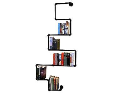 Industrial Seven Tier Bookshelf