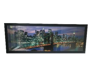 Manhattan Skyline Print