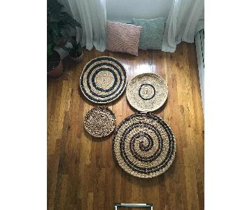West Elm Decorative Bowls/Wall Art