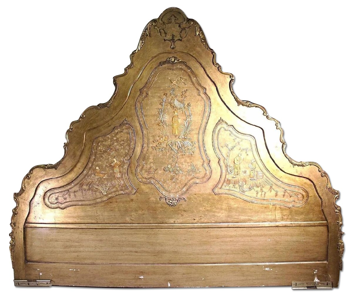 3D King Size Chinoserie Asian Style Headboard