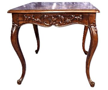 Henredon French Provincial Carved End/Side Table
