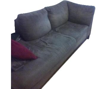 Raymour & Flanigan 2 Piece Sectional Couch