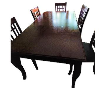 Coaster Fine Furniture Dining Table w/ 6 Chairs