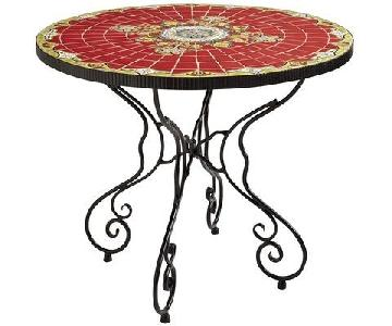 Pier 1 Rania Red Mosaic Table