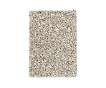 Crate & Barrel Memphis Stone Area Rug