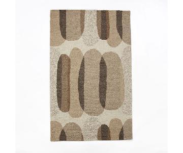 West Elm Cobblestone Wool Rug 5x8