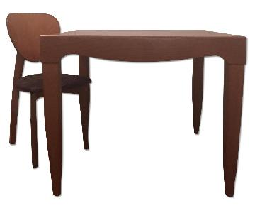 Jensen Lewis Extendable Dining Table w/ 4 Chairs