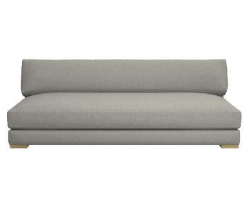 CB2 Piazza Grey Sofa