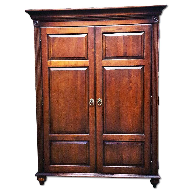 Transitional home office armoire aptdeco for Armoire boconcept