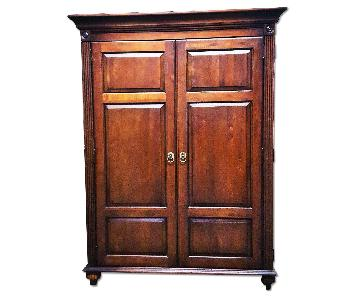 Transitional Home Office Armoire