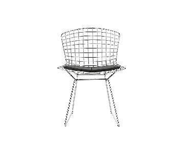 Knoll Bertoia Side Chair w/ Vinyl Seat Pad