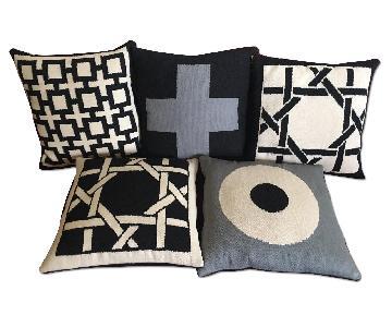Jonathan Adler Geometric Patterned Cushions