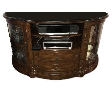 Home Decorator's Collection Marble Top TV Stand/Media con