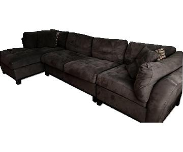Raymour & Flanigan Cindy Crawford Sectional Sofa