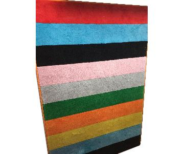 Ikea Ravnso Flat Woven Multicolor Rug