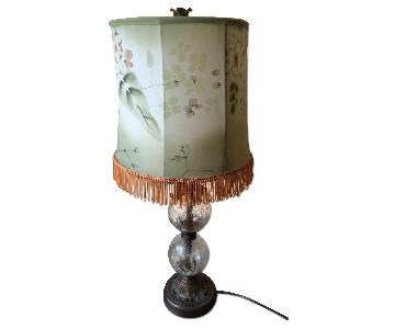 Table Lamp w/ Silk Shade