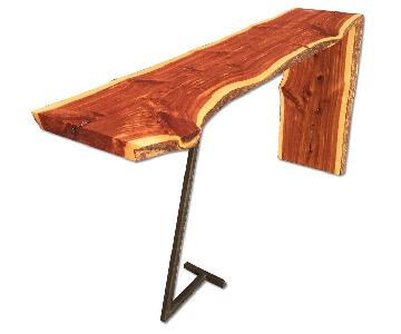 Handmade Live Edge Sofa/Console Table