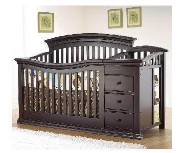 Sorelle Verona 4-in-1 Convertible Crib & Changer