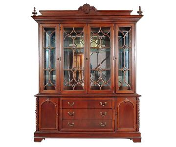 Lexington Solid Wood China Cabinet