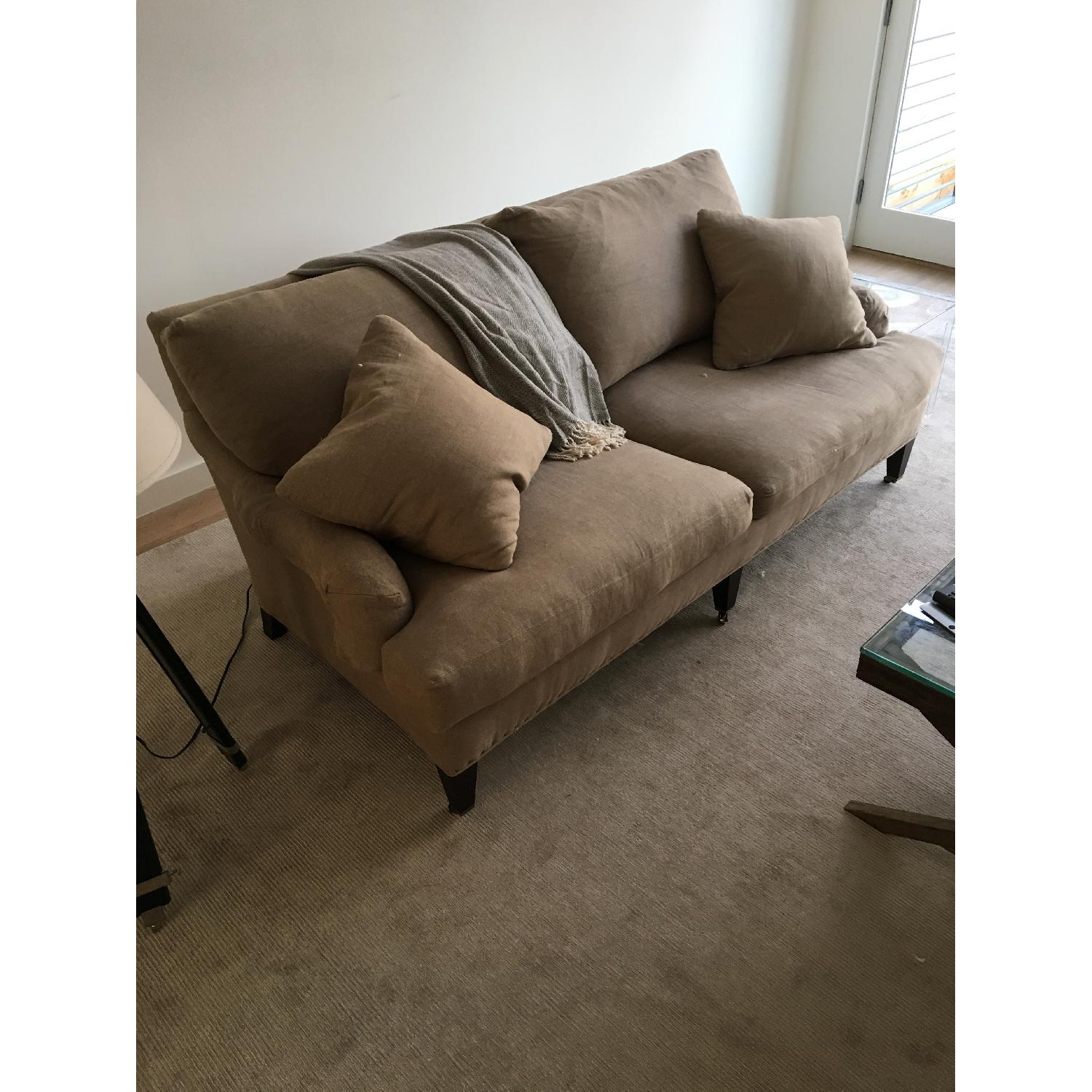 lee industries linen apartment sofa lee industries linen apartment sofa0 - Lee Industries Sofa