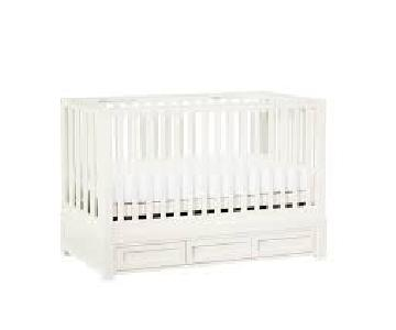 Pottery Barn Storage Crib