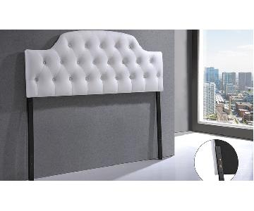 Galena Contemporary Upholstered Full Size Headboard