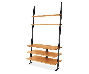 Room & Board Gallery 4 Piece Media/Leaning Shelves