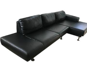 BoConcept Contemporary Leather Sectional