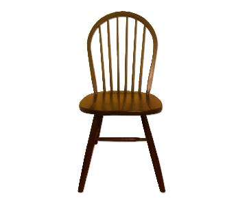 Ikea Dark Wood Dining Chairs