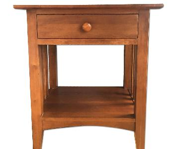 Ethan Allen 1 Drawer Nightstand/Side Table