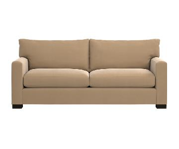 Crate & Barrel Tan Couch