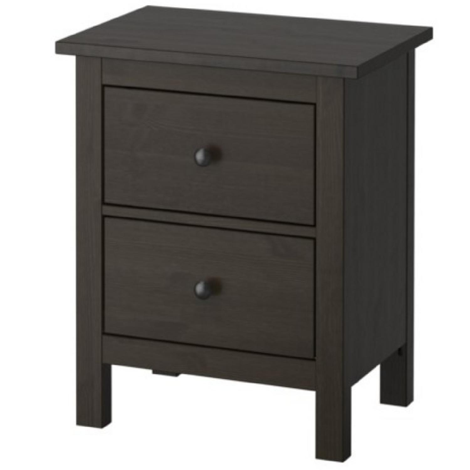 Ikea Hemnes 2 Drawer Chest in Black Brown AptDeco : 1500 1500 frame 0 from www.aptdeco.com size 1500 x 1500 jpeg 80kB