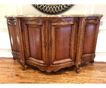 Century Furniture Cherry Wood Buffet/Side Table