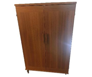 Scan Design Furniture Teak Cabinet w/ Table