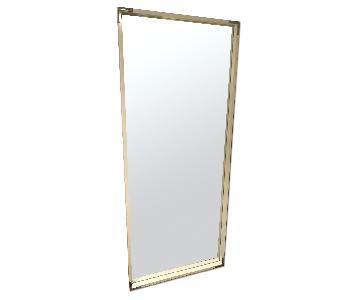 West Elm Malone Campaign Floor Mirror