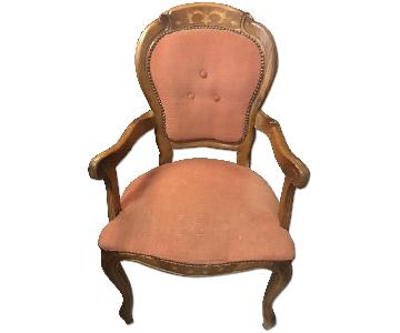 Von Bismarck Castle Early 1900s Wooden Chair