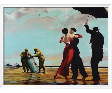 Art Print Radioactive Can Singing Butler Spoof