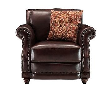Raymour & Flanigans Alexander Leather Recliner