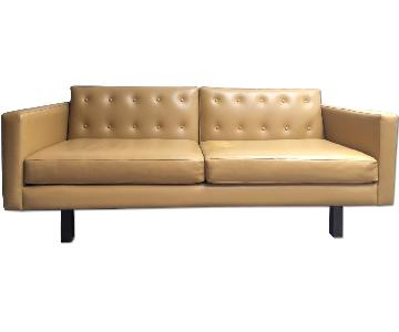Custom Made Leather Sofa