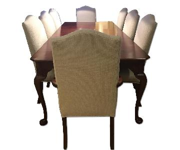 Lexington Furniture Dining Room Table w/ 8 Chairs