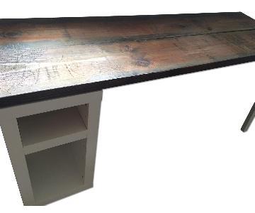 Reclaimed Wood Handmade Desk