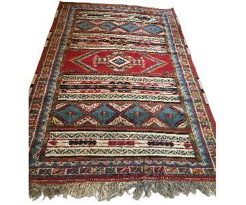 Vintage Moroccan Taznakht Rug