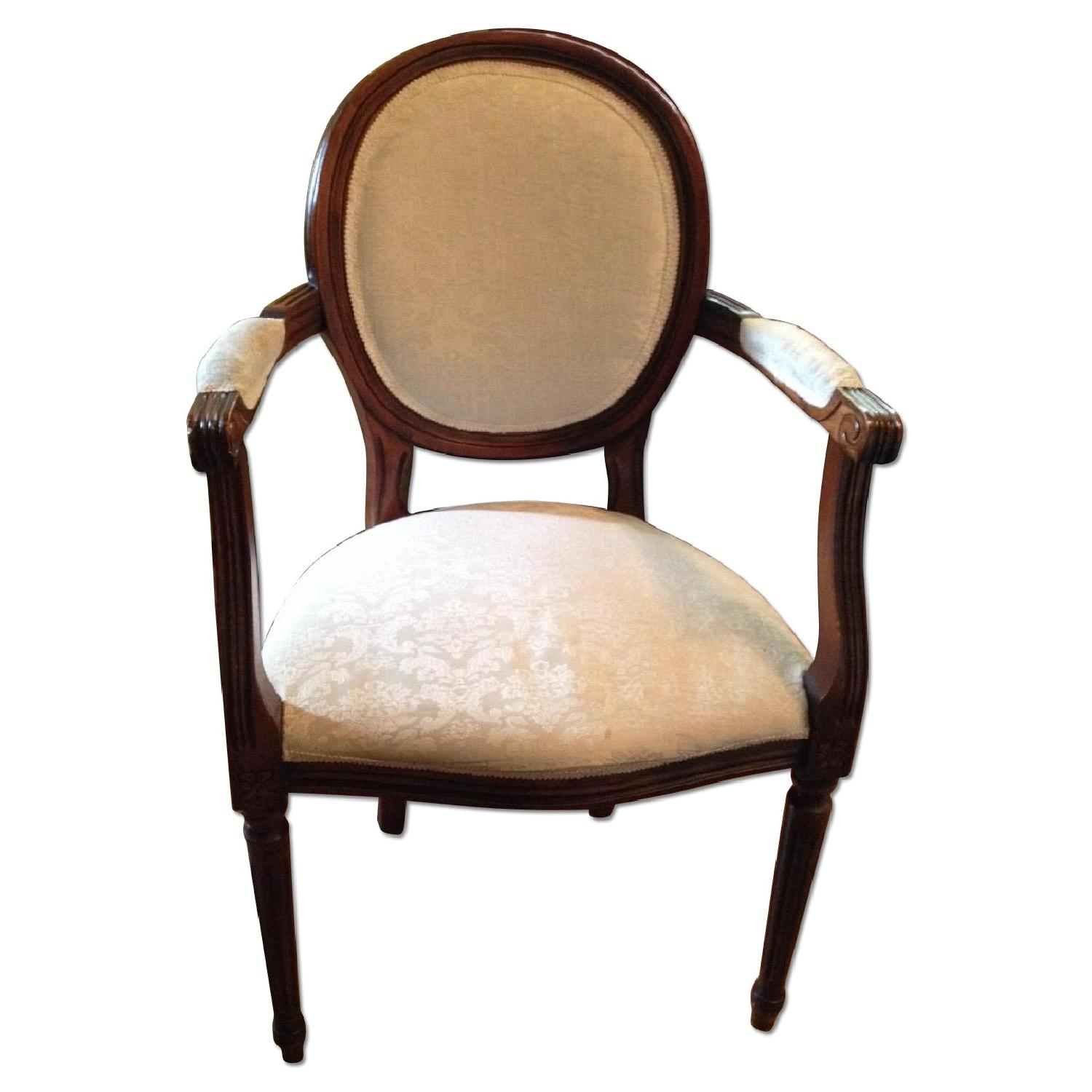 JC Penney Louis XVI Style Arm Chairs - Set of 4