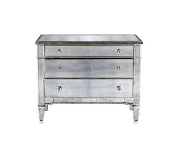 Horchow Mirrored Hall Chest