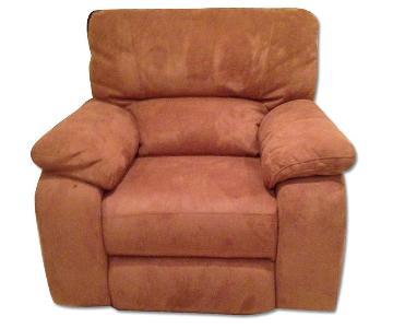 Macy's Tan Recliner Chair