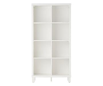 Land of Nod Cubic Tall Bookcase w/ 8-Cubes
